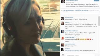 Zayn Malik Makes Perrie Edwards Cry With Video Message!