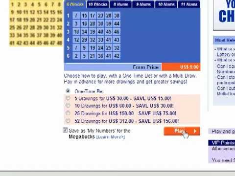 Check Your Lottery Ticket Online