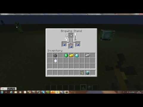 Minecraft how to make regeneration potion 1.7.5
