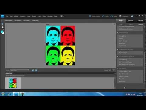Photoshop Elements 9 - Pop Art Effect