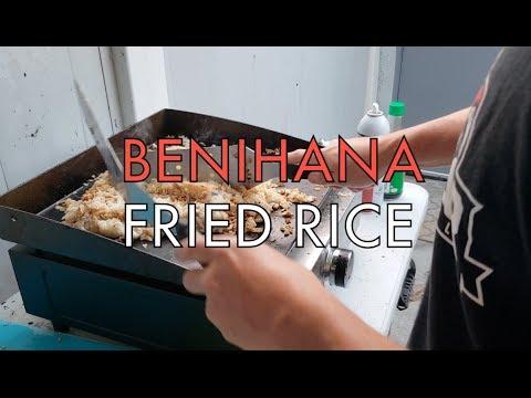 Benihana Fried Rice Blackstone Griddle
