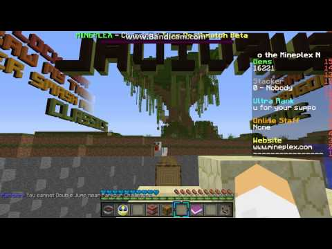 Minecraft:How to get gems easily on the Mineplex parkour!