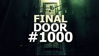 WHAT'S INSIDE THE FINAL DOOR? #1000 // Spookys House of Jumpscares