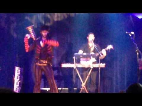 Youmacon 2013 Steam Powered Giraffe concert - Steam Man Band