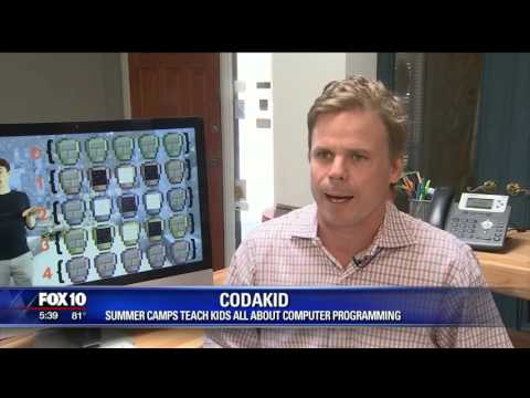 COD   FOX 10   coding summer camp   4 17 2016