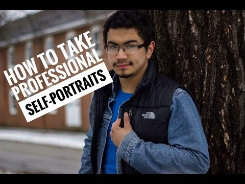 How to Take Professional Self Portraits (With a canon t3i, t4i, t5i, 60d)