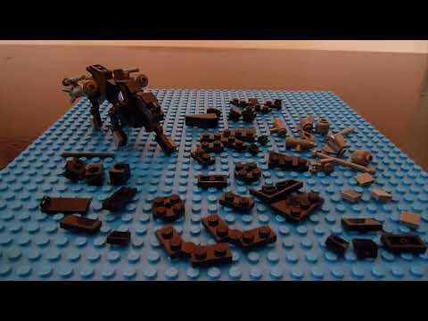 Ravage 2.0 , A G1 Lego Transformers Tutorial
