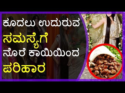 How to Prevent Hair Fall using Traditional Soap Nuts Remedy: 100% Works