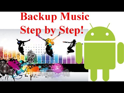 How To Backup Music In Android Phones!