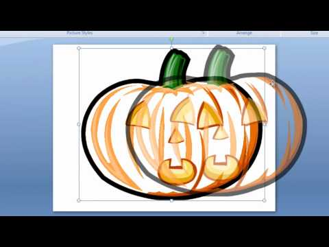How to Set a Transparent Color in Microsoft Office