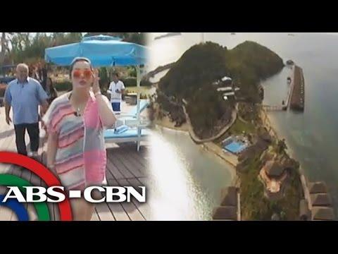 Kris tours Huma resort in Palawan