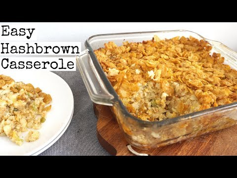 Easy Hash Brown Casserole | vegan (Bake 350F - 45Mins)