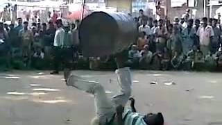 Indian Street Circus Amazing Talent Perfect Stunt on Roadside Magic Show MUST WATCH