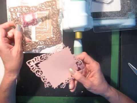 How to remove die cuts from intricate Spellbinders dies without tearing the paper