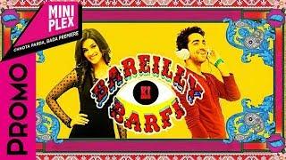 Ayushmann, Kriti and Rajkummar Promote Bareilly Ki Barfi On Miniplex - Latest Hindi Movie