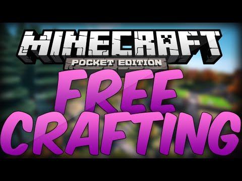 Minecraft Pocket Edition : [0.9.0] Free Crafting Glitch