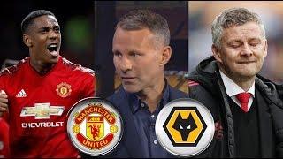 Wolves vs Manchester United 1-1 Post Match Analysis; Ryan Giggs & Marcus Rashford REACTION
