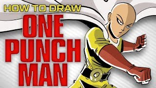 how to draw ONE PUNCH MAN