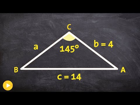 How to use the law of sines given one angle and two sides - One Triangle