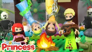 ♥ LEGO Disney Princess CHAINED UP ADVENTURES Compilation Stop Motion Animation Cartoon for Kids