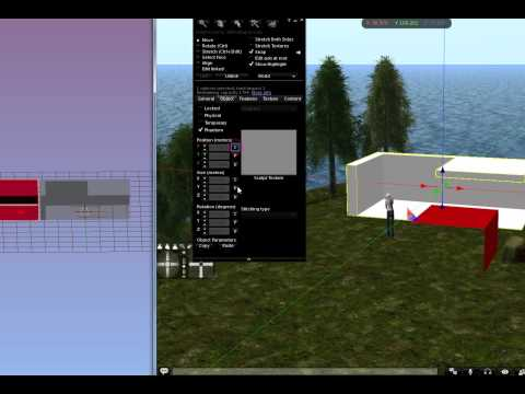 Second Life Mesh Physics Example