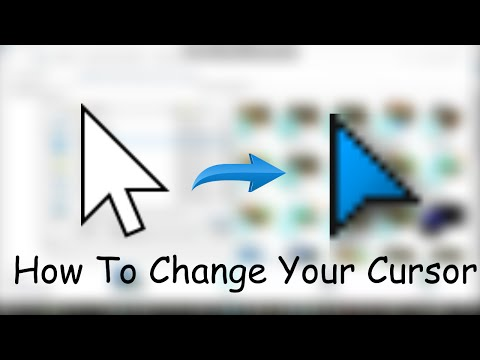 Tutorial | HOW TO CHANGE YOUR CURSORS [EASY] [FAST]