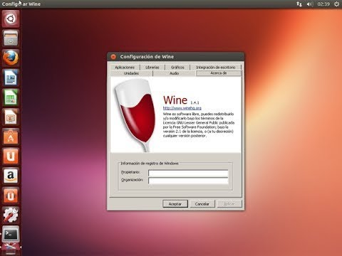 how to install wine on Ubuntu Linux