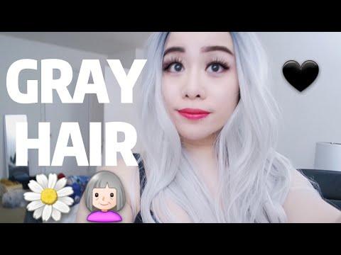 NEW GRAY HAIR?! 🌼👵🖤
