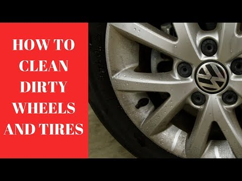 How To Clean DIRTY Wheels and Tires- Wheel and Tire Cleaning Tips