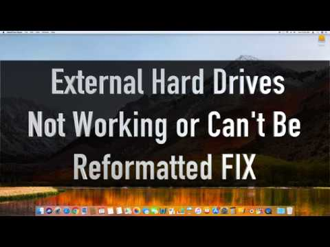 MacOS - External Drive NOT SHOWING / NOT REFORMATTING FIX - SPECIAL TUTORIAL & EASY FIX