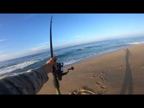 Surf Fishing for 5.5 lb Spanish Mackerel (Fish & Cook Part 1)
