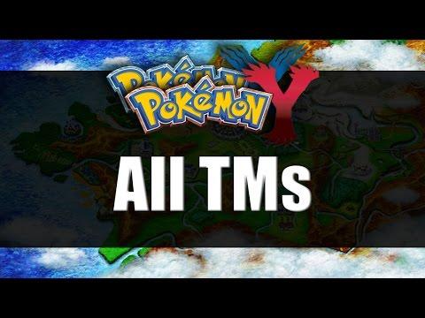 Pokemon X & Y | All TM Locations