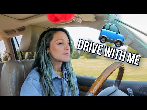 DRIVE WITH ME! My playlist, coffee order & more!