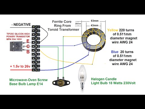 How to Make Simple DC to AC Inverter 2