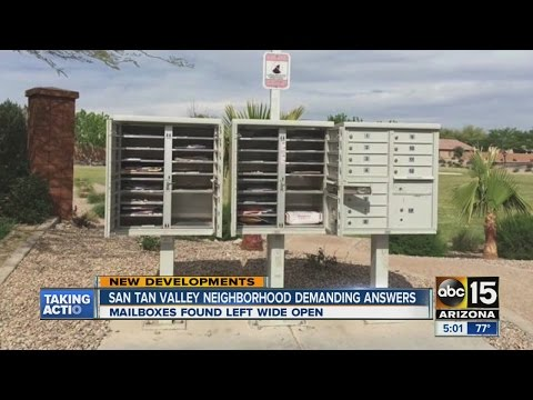 San Tan Valley neighborhood demanding answers about mail incident