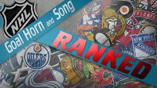 Nhl Goal Horn And Song Fan Rankings 201617