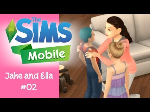 The Sims Mobile - How to Age Up and Make Kids Playable - iOS