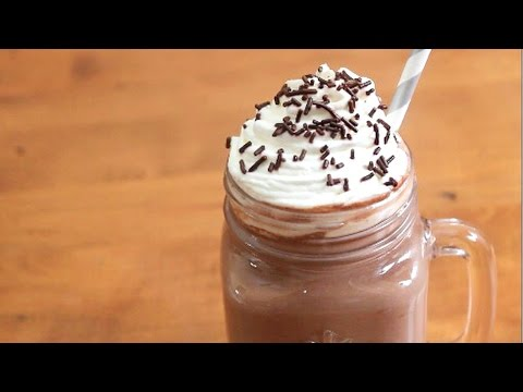 Rich and Creamy Disneyland Hot Chocolate | 5 ingredients