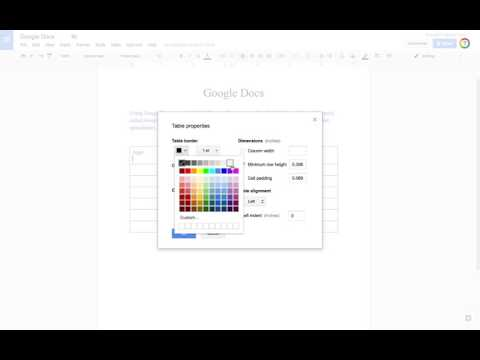 Create Newsletter Columns Using Tables