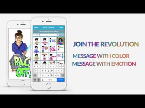 Real Emotion Texting  (Big emojis emoticons stickers for email and texting)