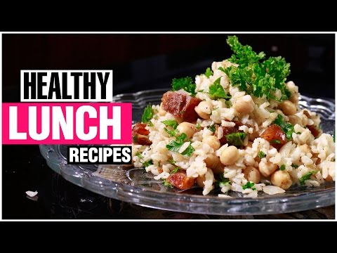 2 EASY & HEALTHY SALAD RECIPES FOR LUNCH – EGG, RICE