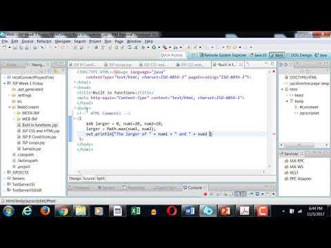 JSP Built in functions