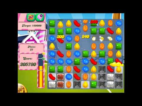 Candy Crush Saga: Level 235 (No Boosters 3★) iPad 4