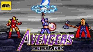 Download Avengers Endgame Final Battle - 16 Bit Scenes Video