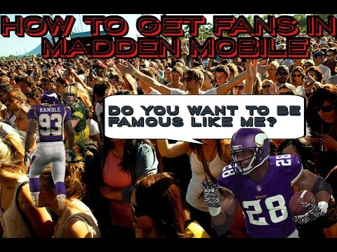How to get fans in Madden Mobile