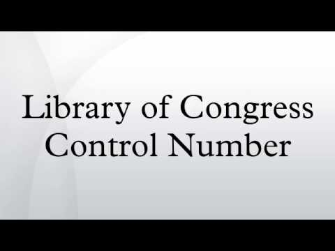 Library of Congress Control Number