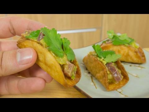 Sushi Taco Tuna Ceviche Recipe