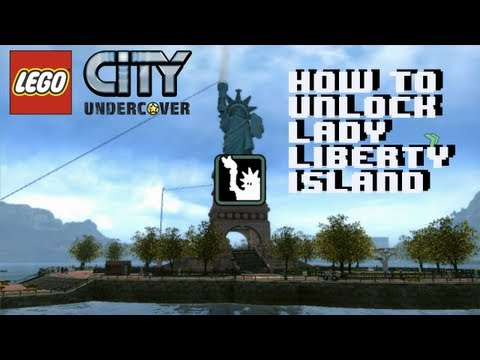 Lego City Undercover How to Unlock Lady Liberty Island 1080P HD