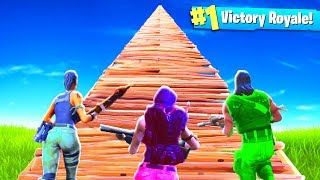 THE PALS BUILD TO THE SKY in Fortnite: Battle Royale!