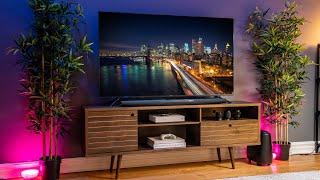 Modern Tech Budget Living Room Setup Tour! // 2019